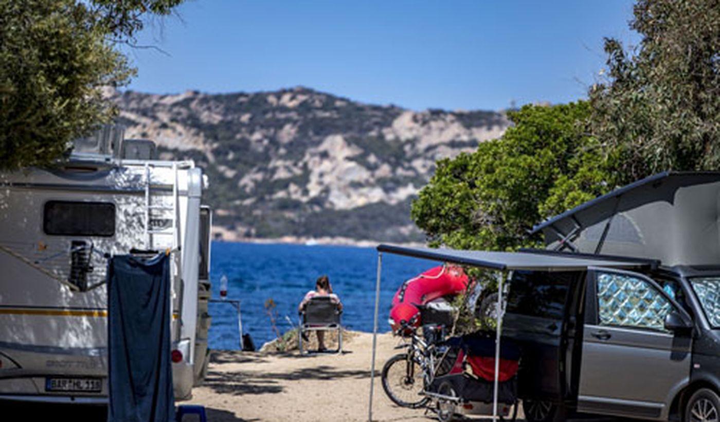 Camping Village am Meer in Sardinien