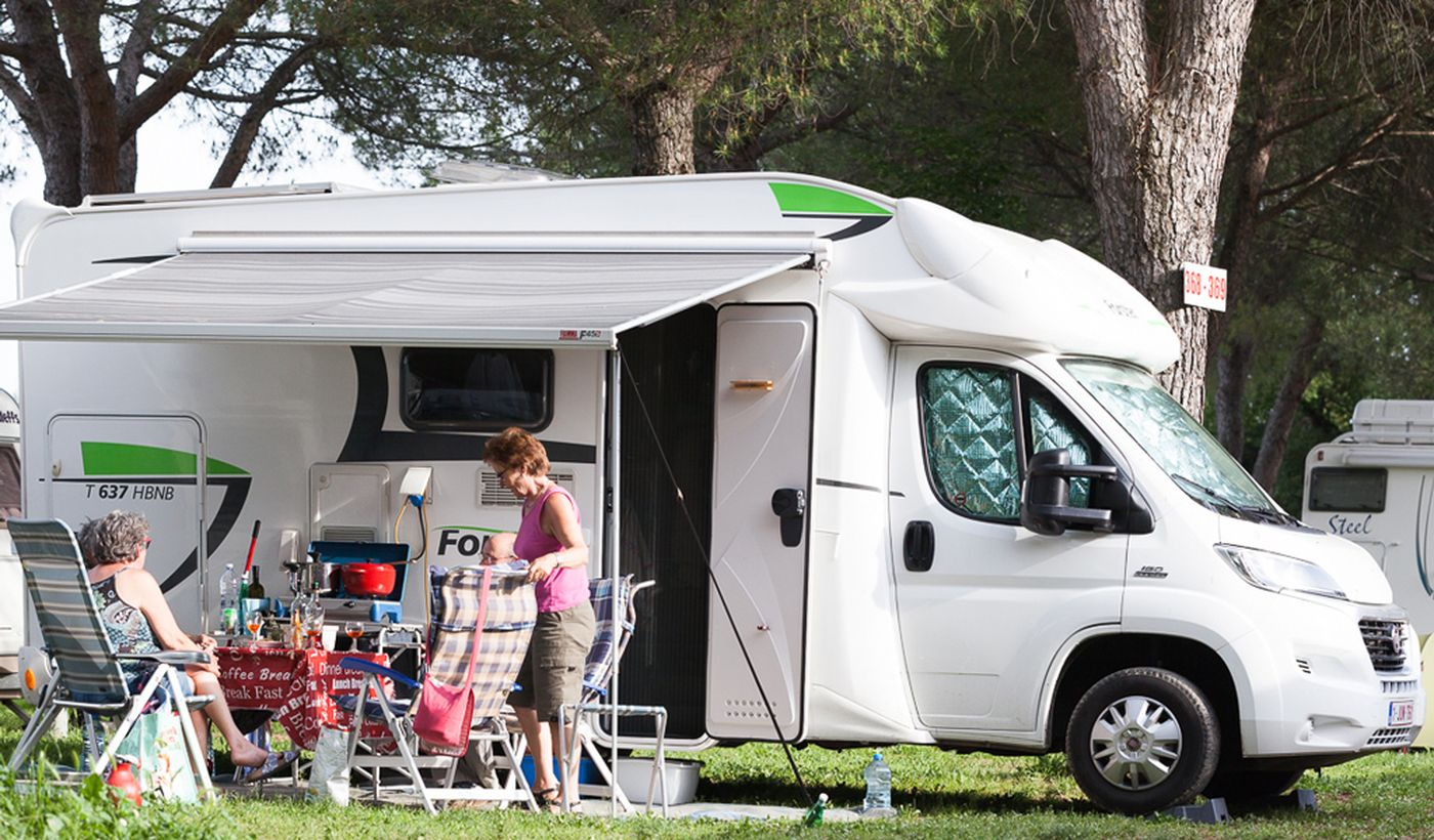 Camping mit Camper Stop-Bereich in Assisi, Perugia