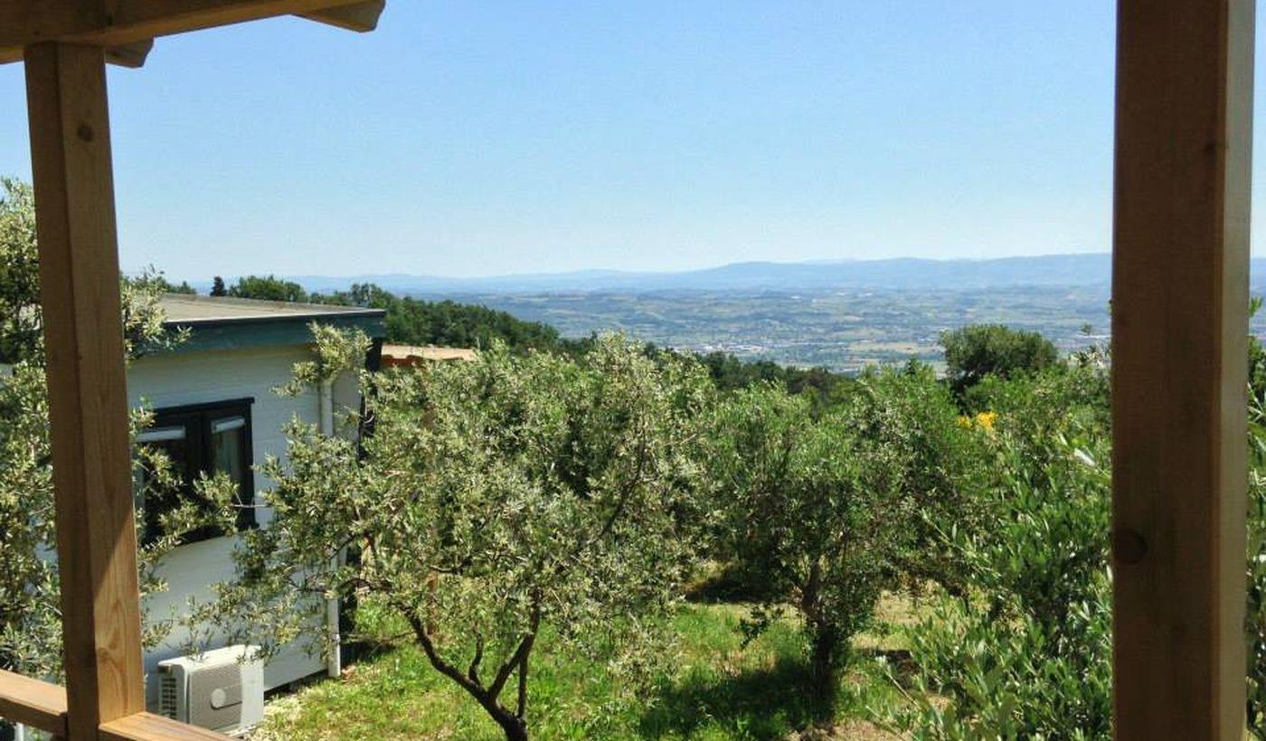 Camping Village nella campagna Toscana