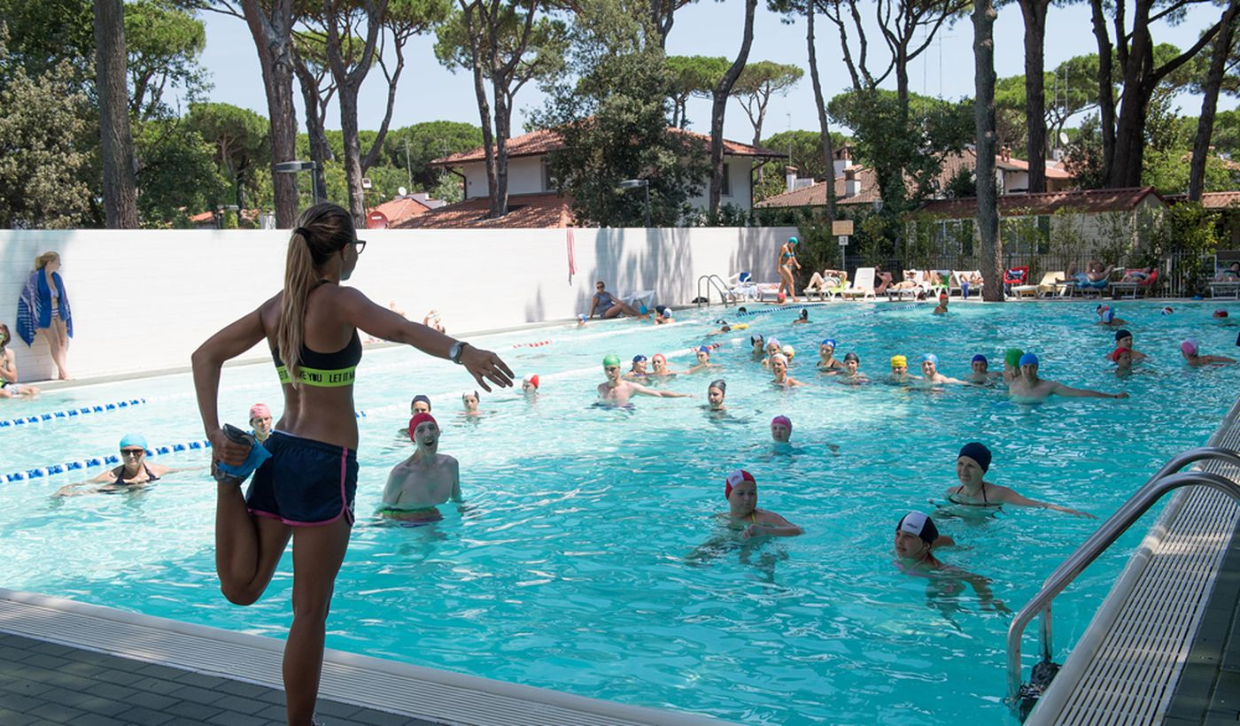 Aquagym in Piscina