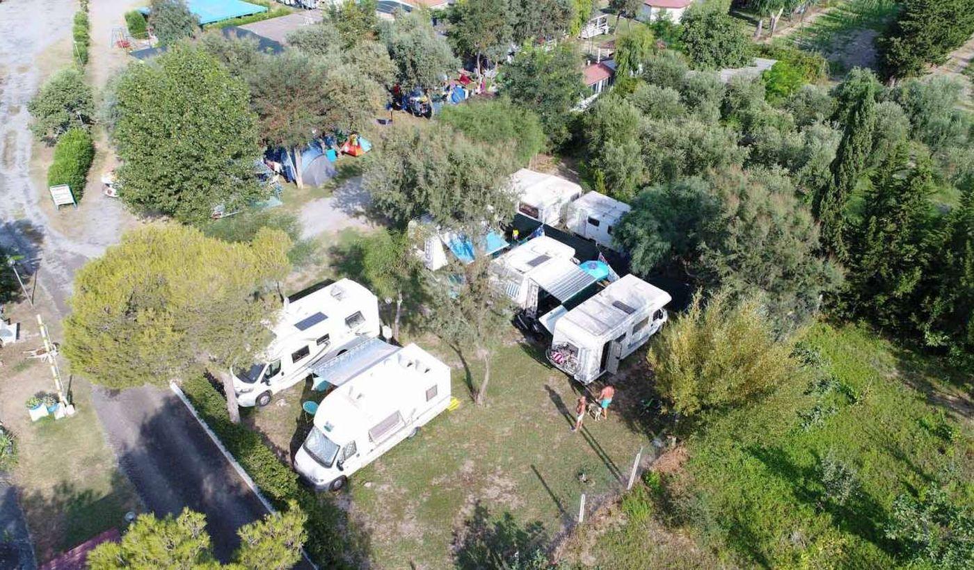 Camping Village sul mare in Calabria