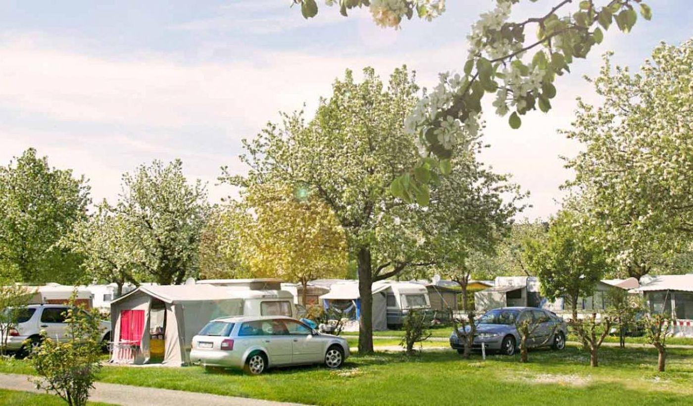 Camping Wirthshof beim Bodensee