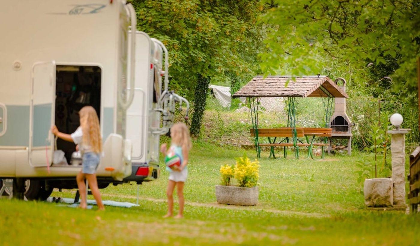 Camping für Familien am Tennosee, Südtirol