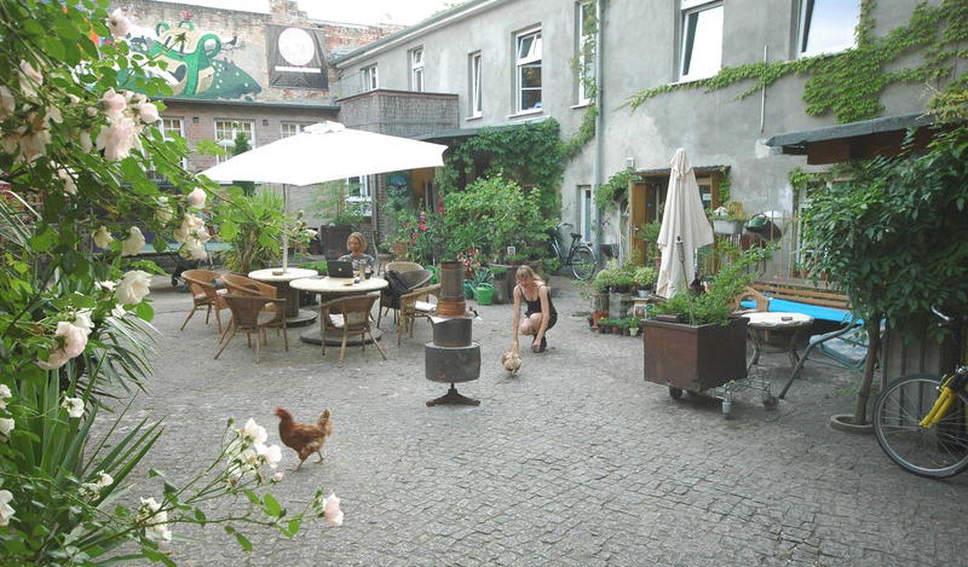Sandino Camping Hostel Berlin