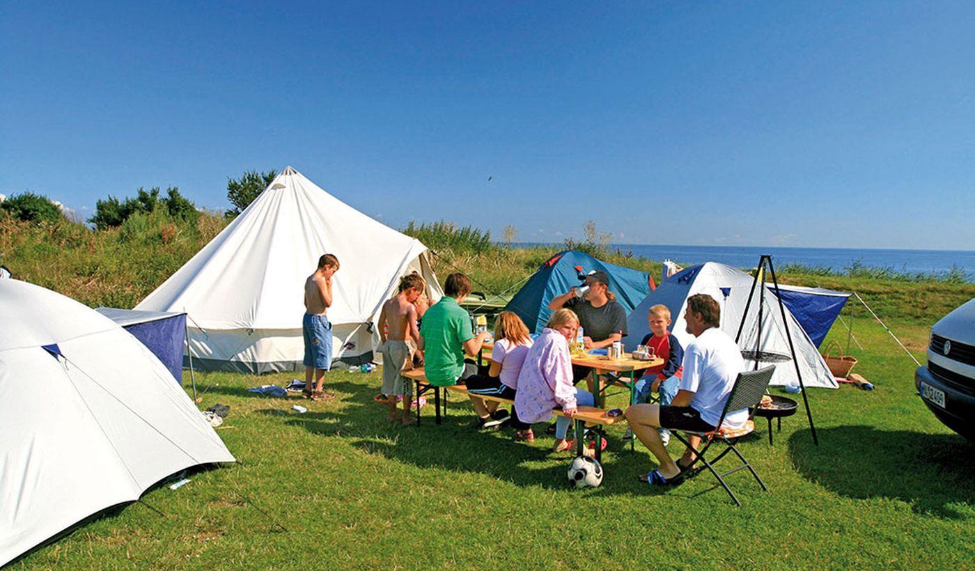 Camping Klausdorfer Strand auf Fehmarn