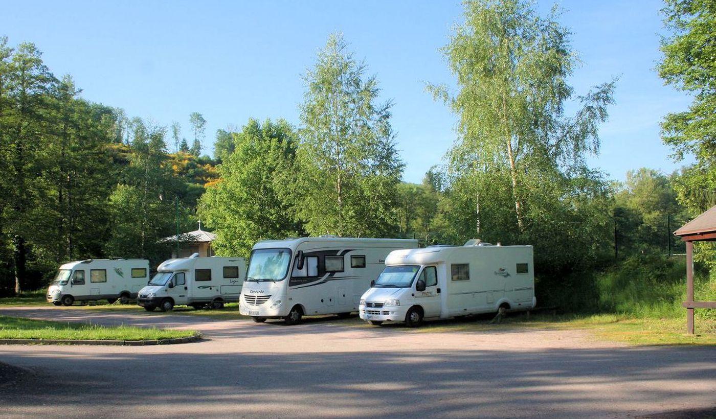 Les espaces pour caravanes