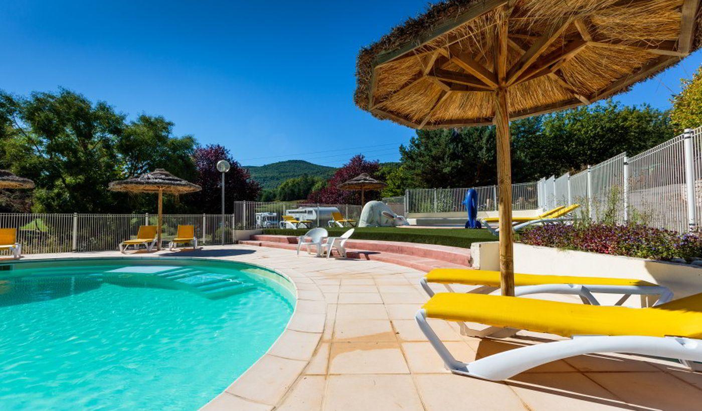 La piscine de le camping Gorges du Verdon