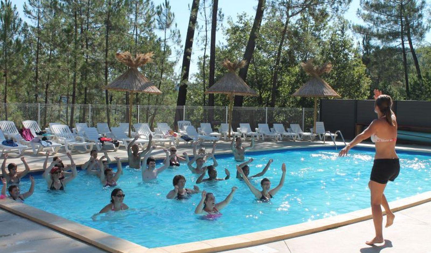 La piscine de le camping