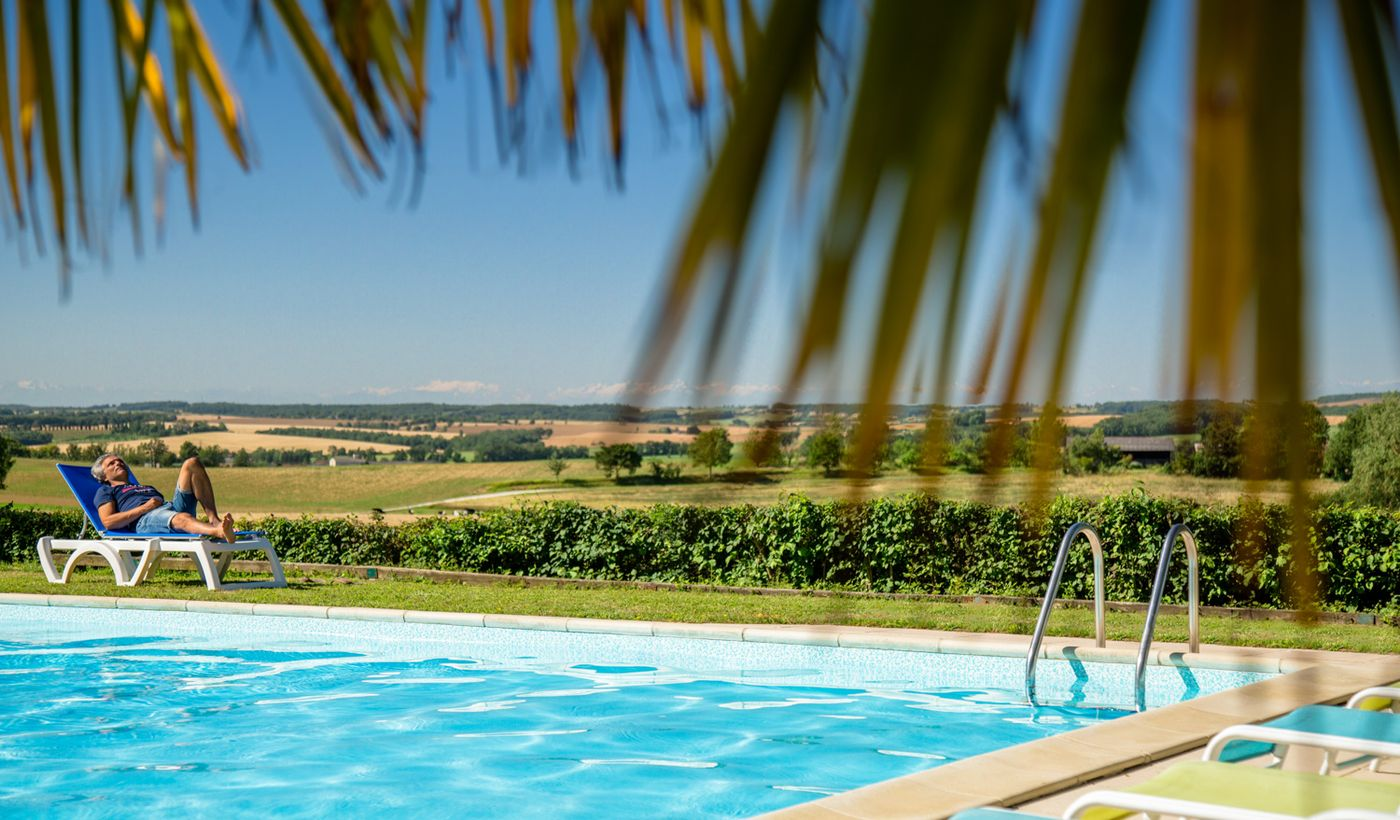 La piscine des Chalets des Mousquetaires