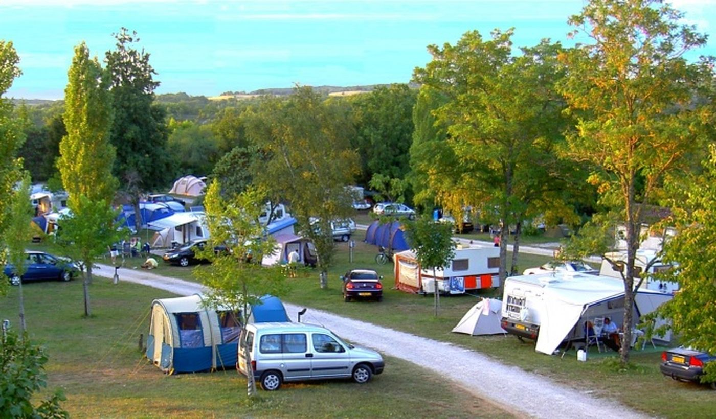 Emplacements du Camping Quercy Vacances