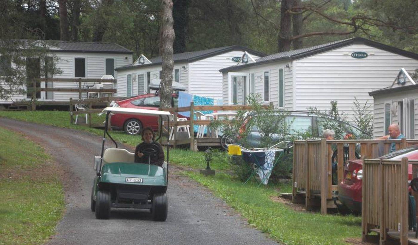 Les locations du camping Les Trois Sources