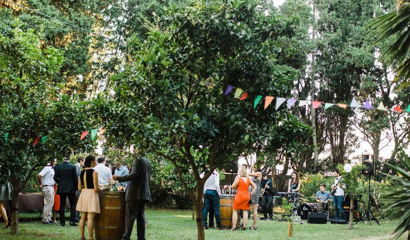 Les espaces du Domaine du Mas Bazan pour les grandes occasions