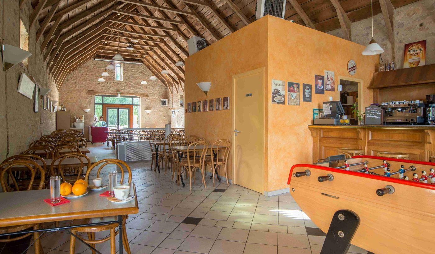 Le Bar / Restaurant du Camping La Grange de Monteillac