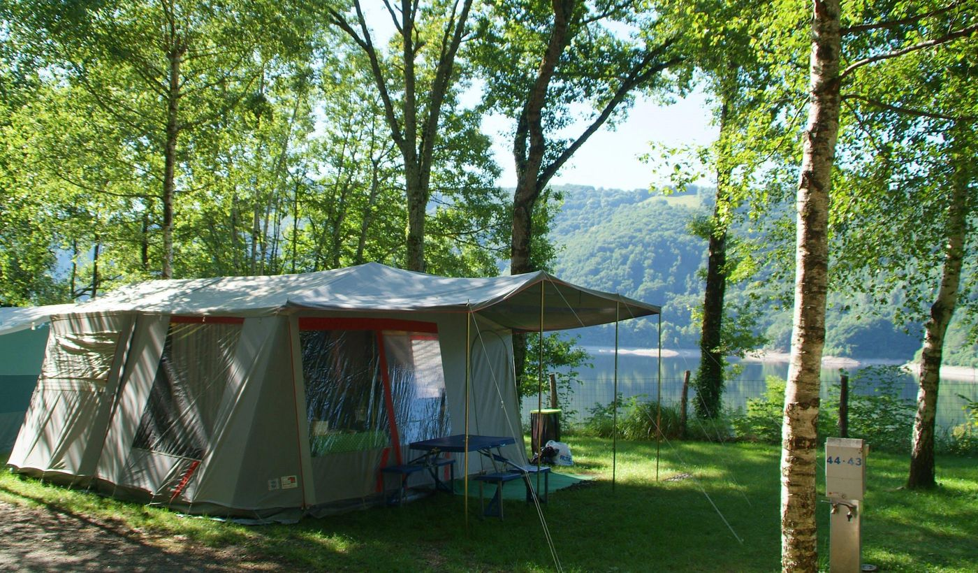 Les emplacements camping en Aveyron