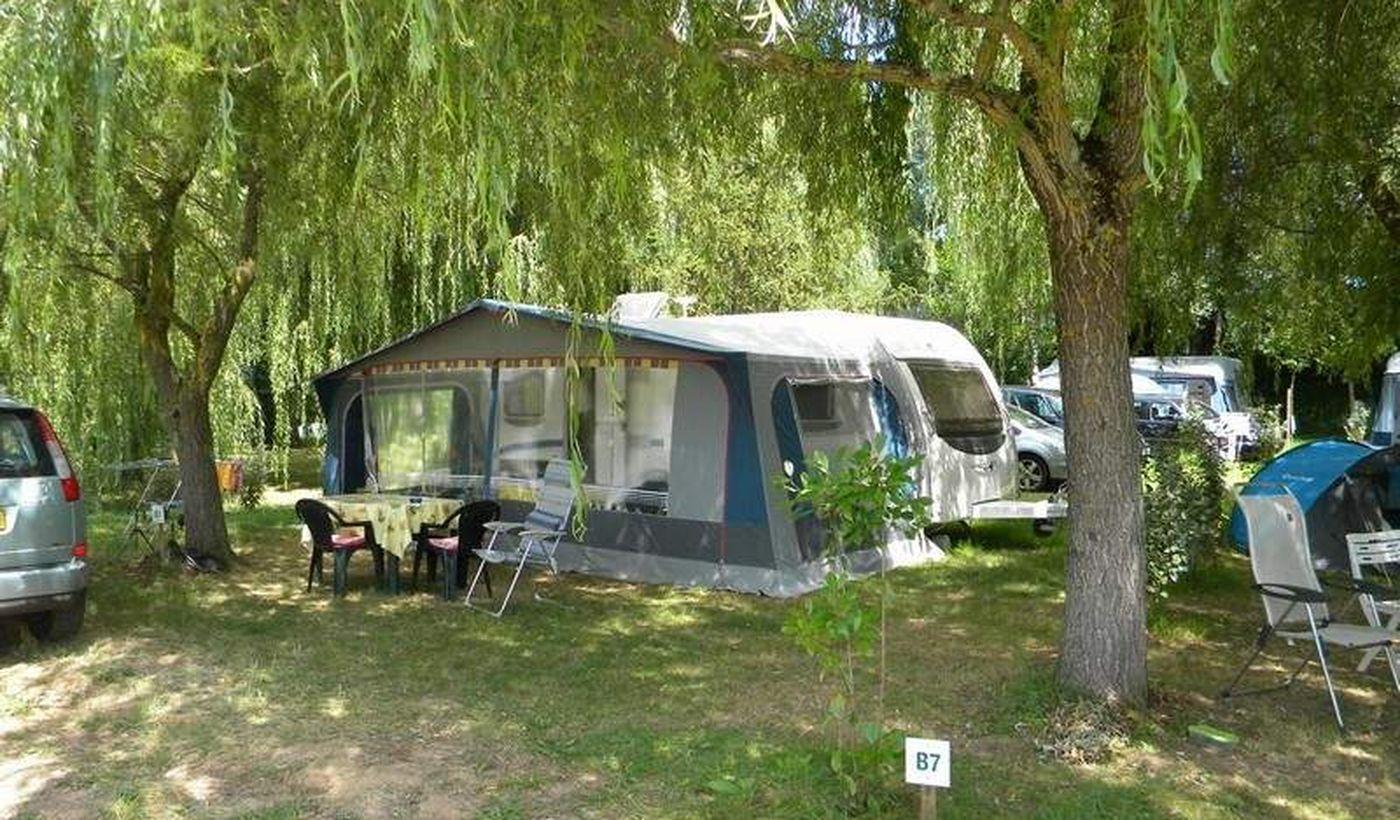 Emplacement du Camping Les Catalpas