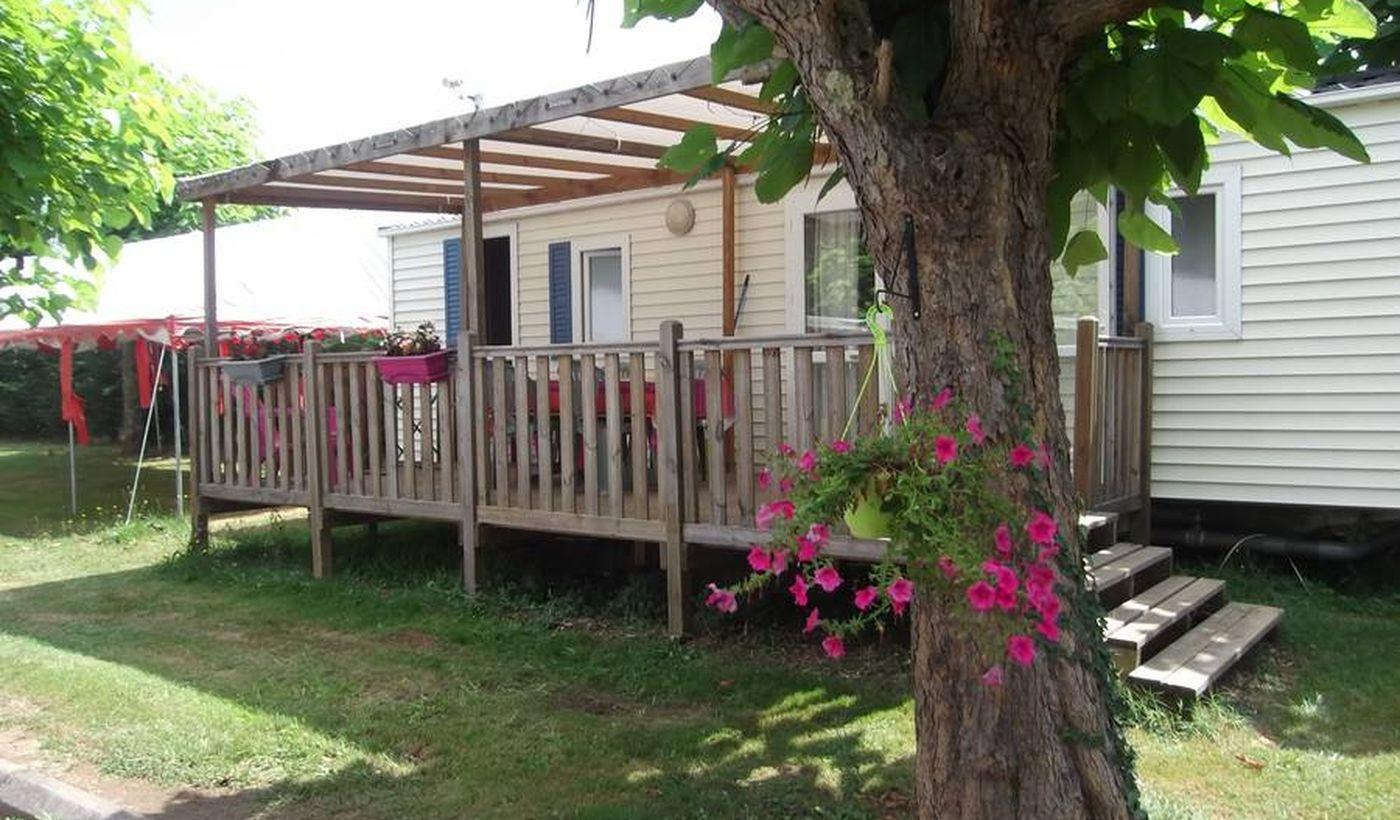Bungalows, chalets et mobil-home du Camping Les Catalpas