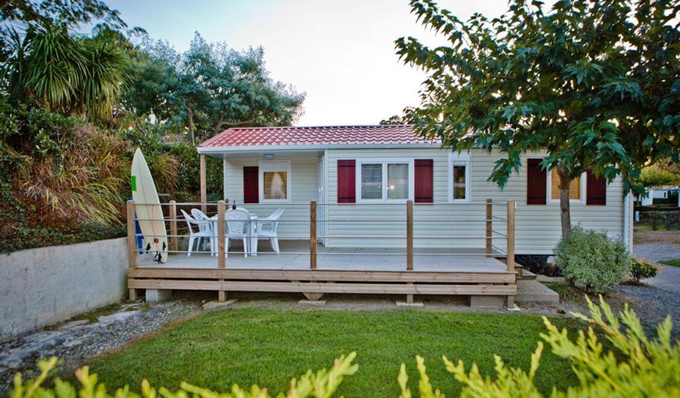 La Mobil-home Azur du Camping Ur Onea