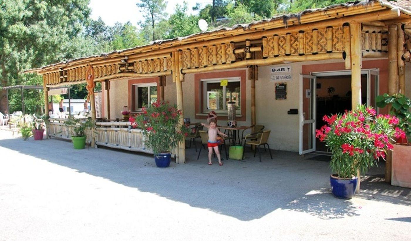 Le bar du camping Les Fauvettes