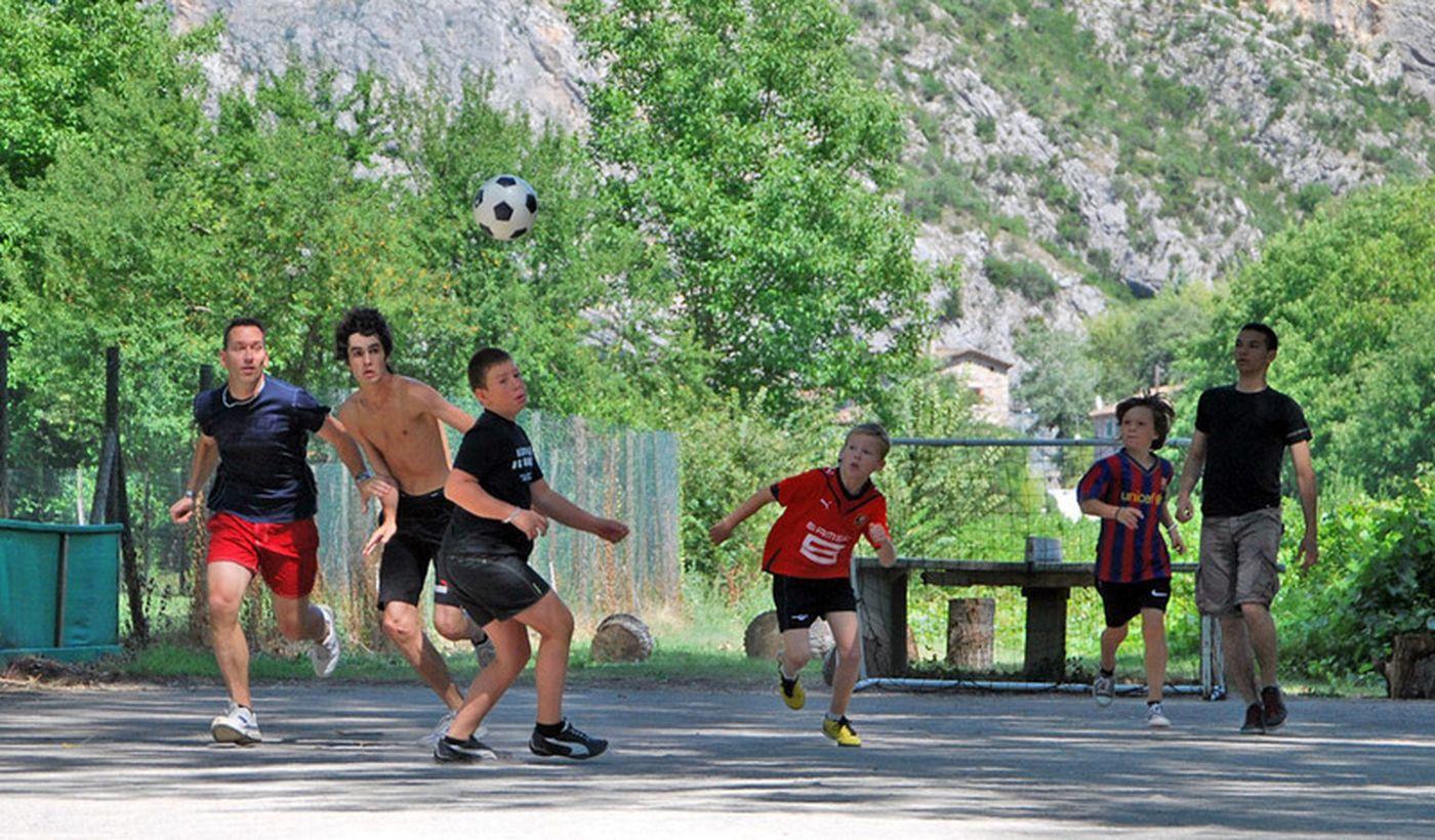 Les activités et animations sportives du camping Les Fauvettes