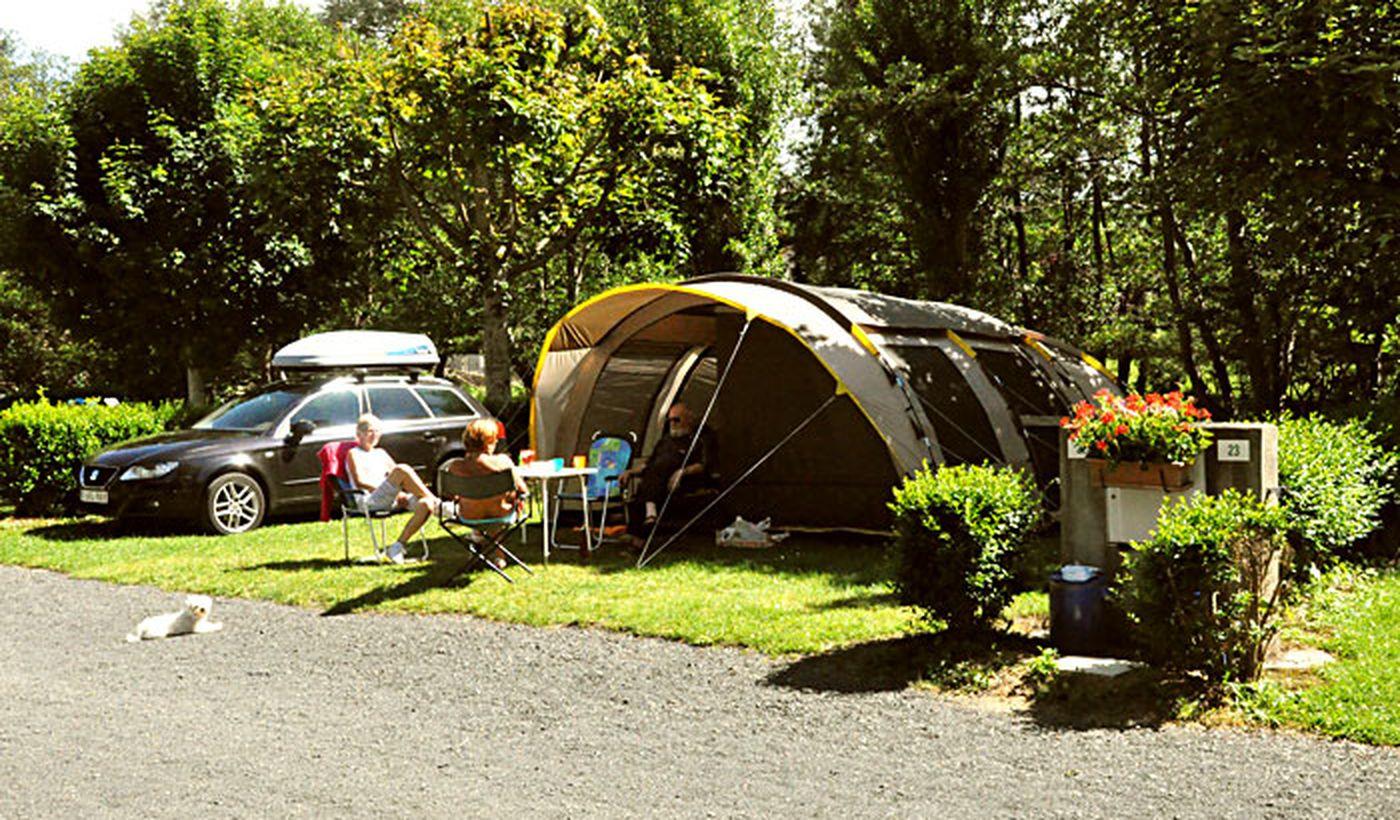 Emplacements du Camping les Moulettes
