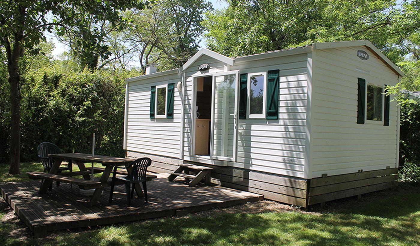 Les mobil-home du Camping de la Croix Saint Martin