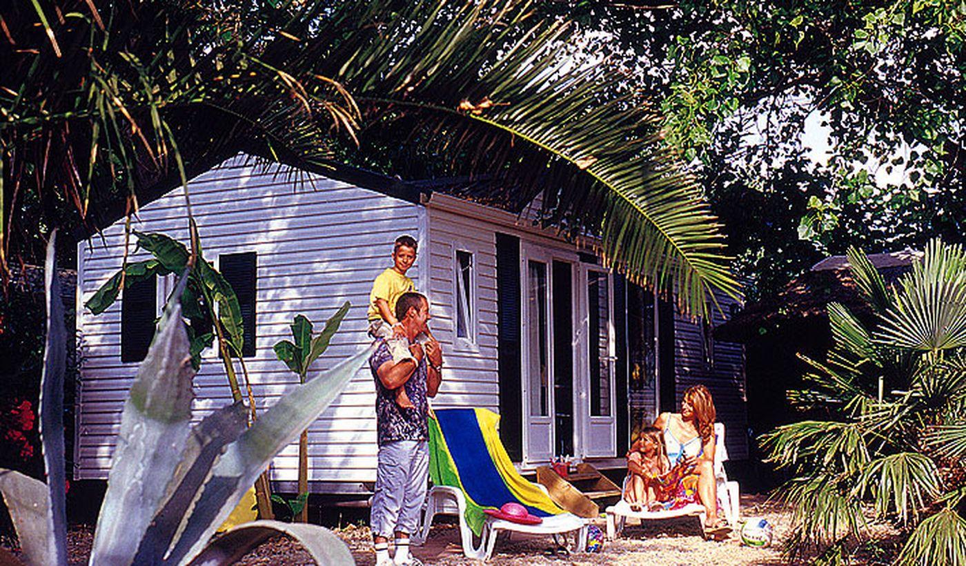 Les mobil-home du Camping Mer et Soleil