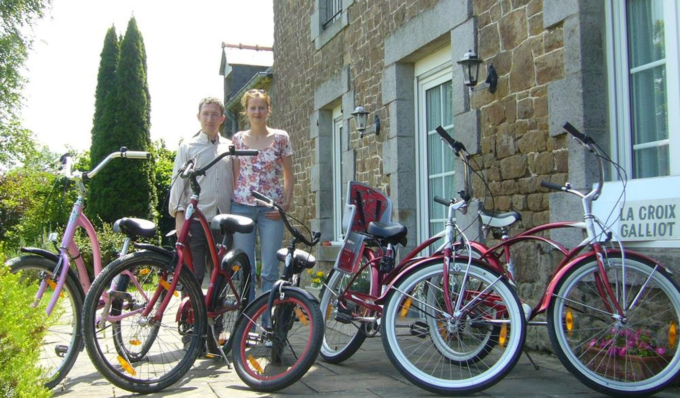 Location de VTC, vélo enfant, remorque, sièges bébé