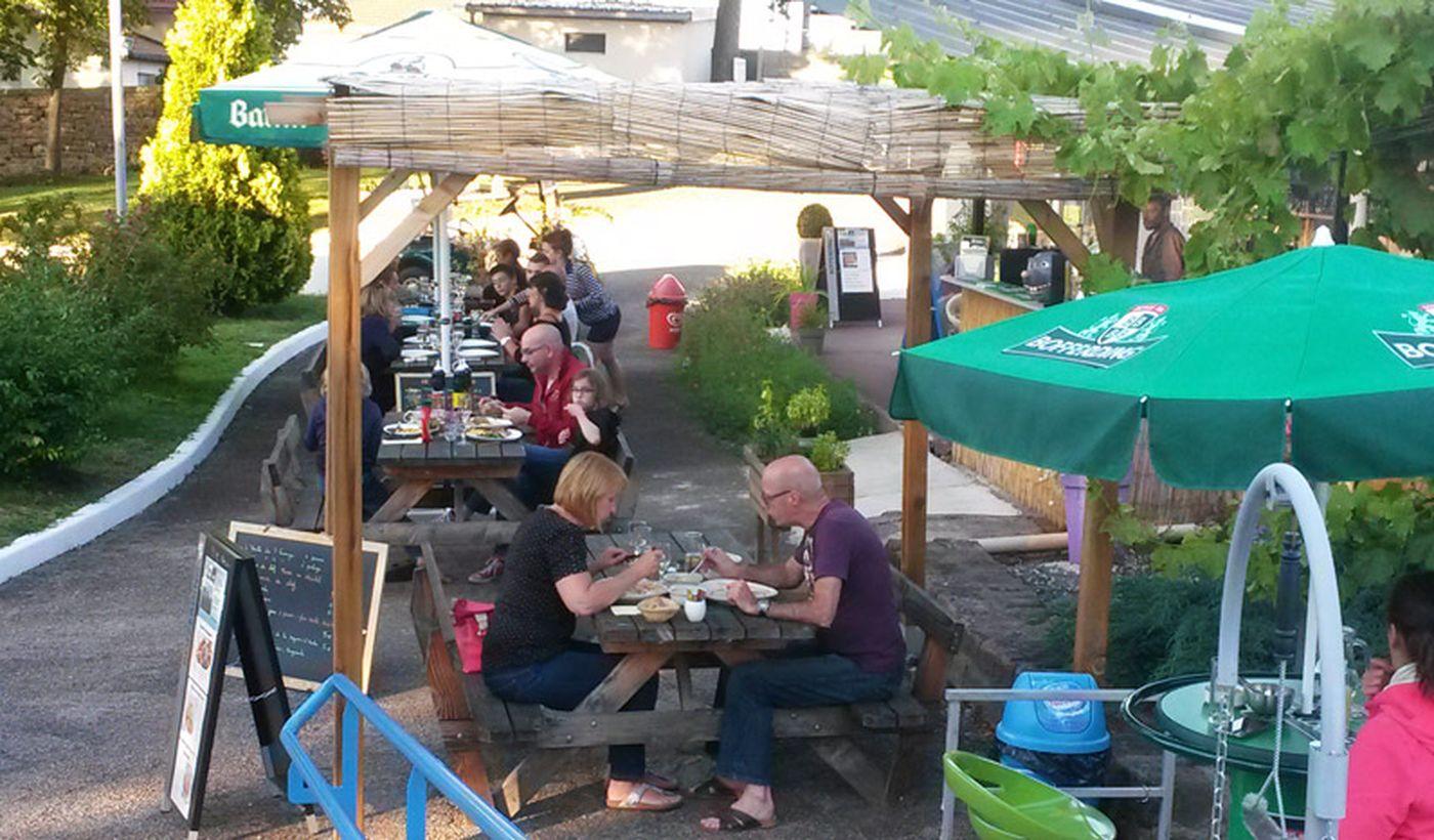 Bar / restaurant du Camping Parc du Château