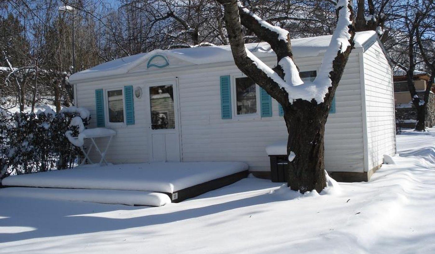 Les locations du Camping L'Enclave