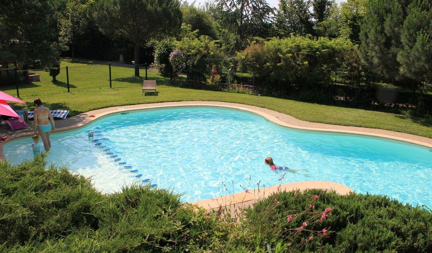 La piscine du Camping le Pré Fixe