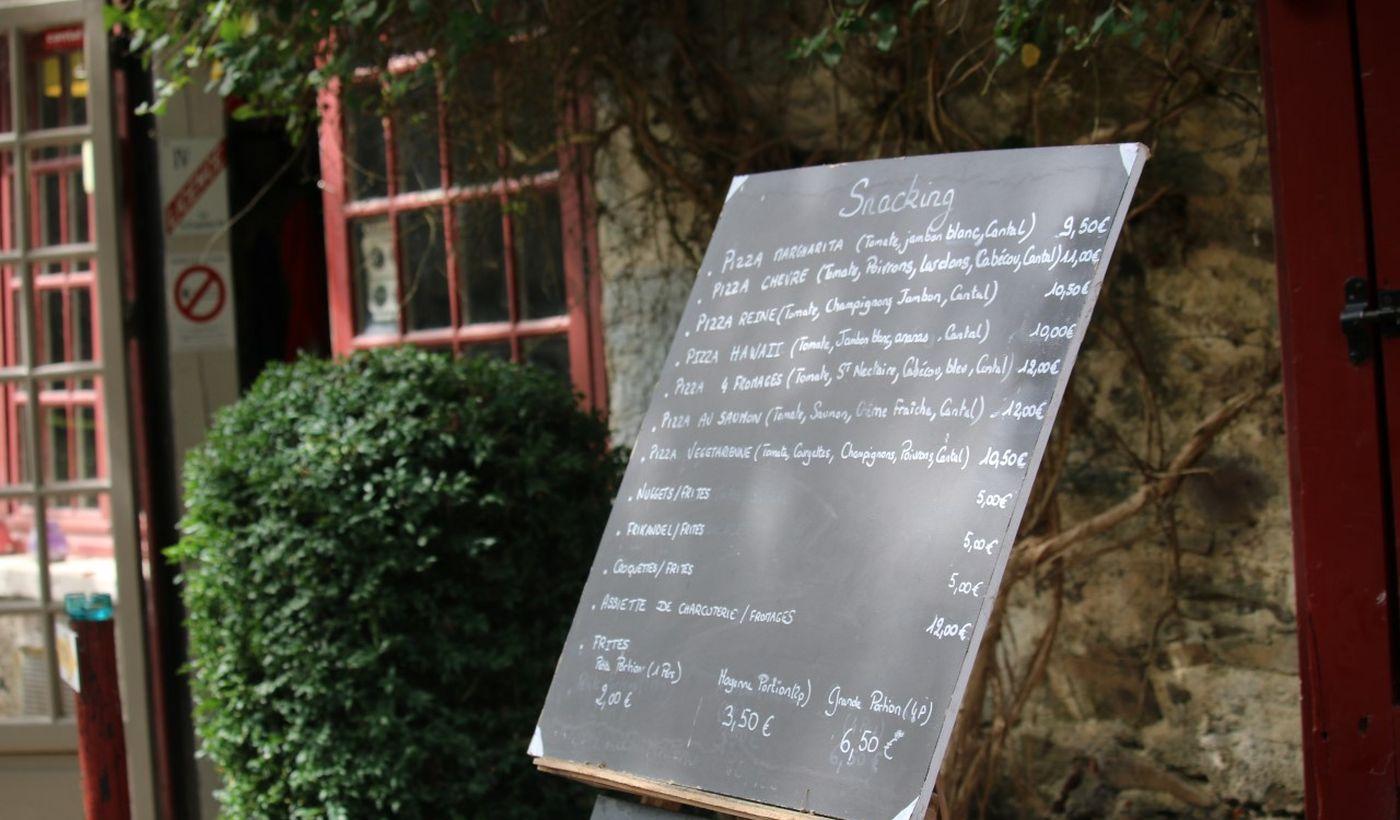 Restaurant du Camping Moulin de Chaules