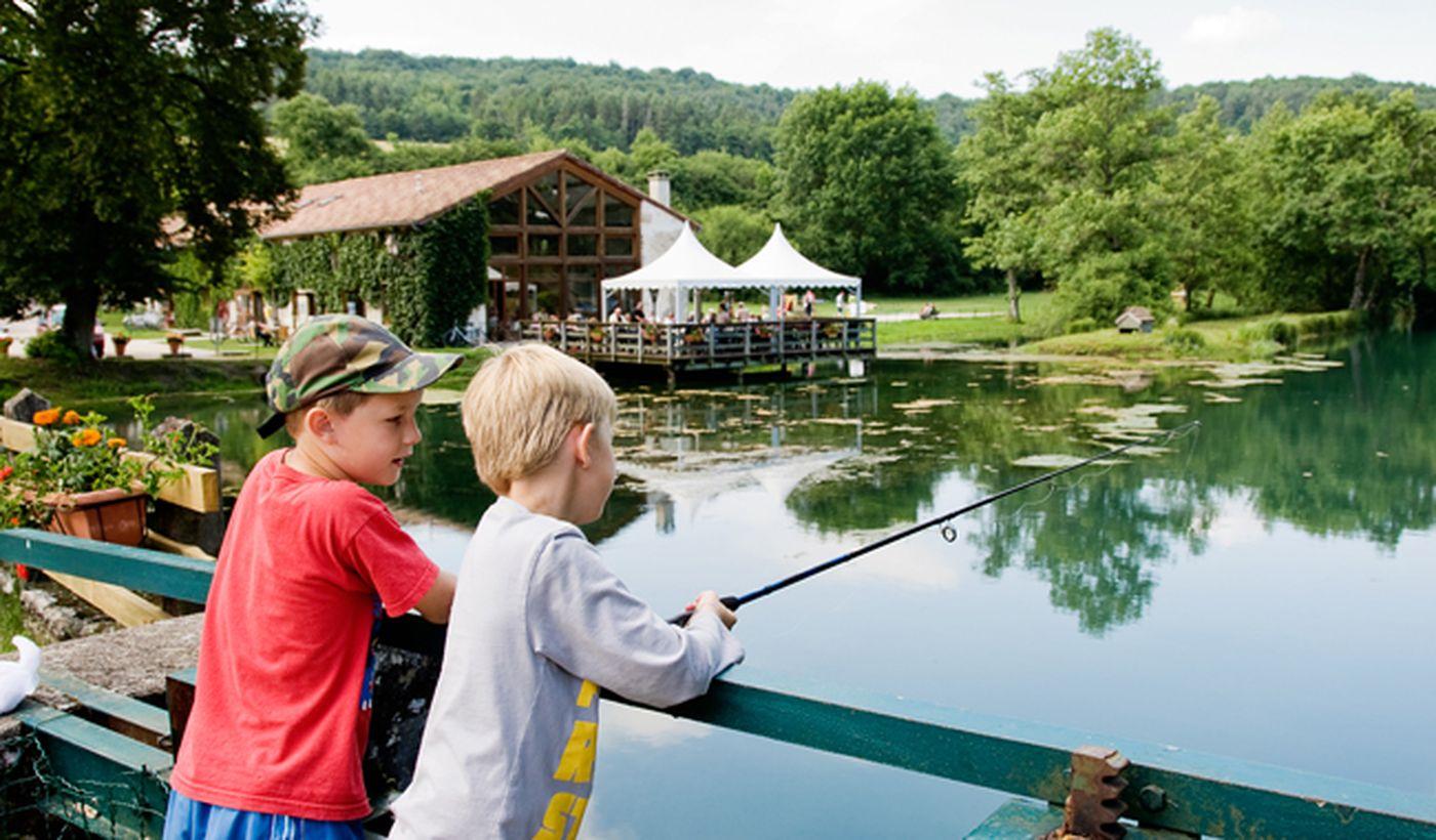Un endroit magnifique pour la pêche