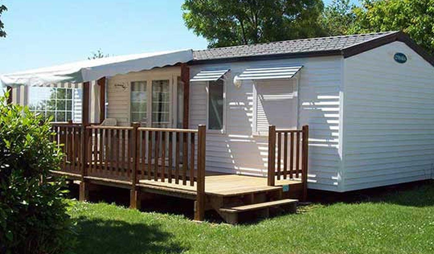Mobil-home du Camping Le Roc