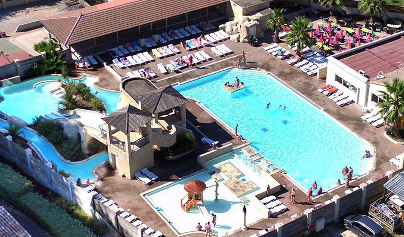 La piscine - Camping La Prairie