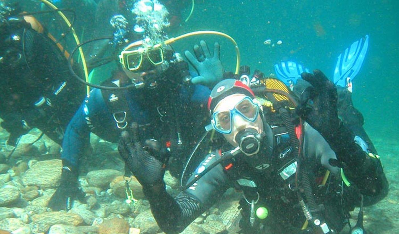 Plongée dans le Lac Léman