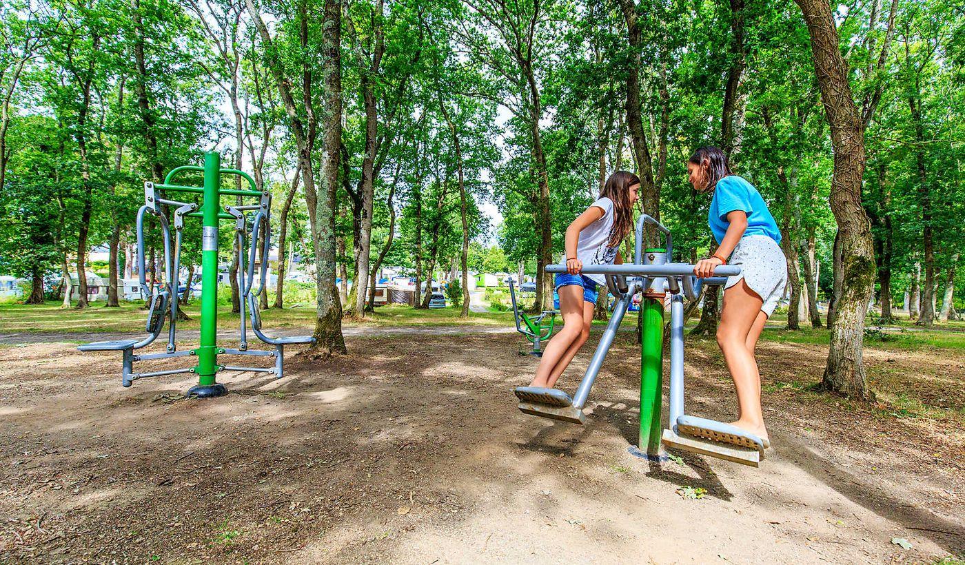 Fitness en plein air