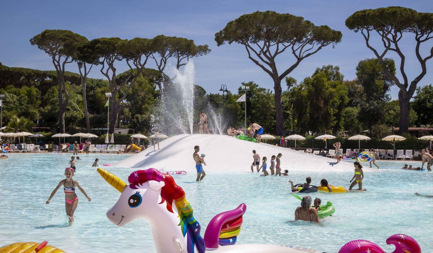 Parco piscine del Park Albatros