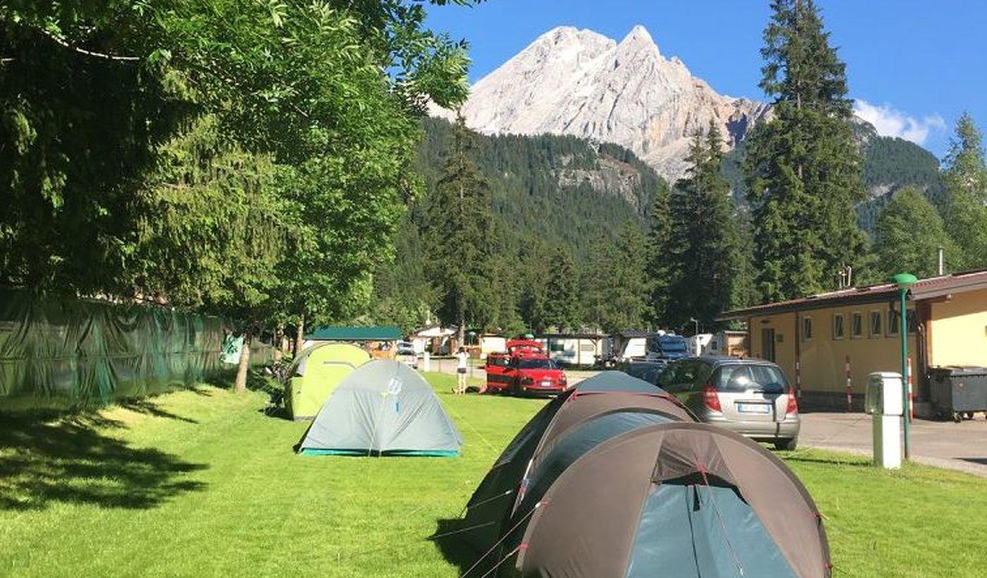 Campeggio Marmolada