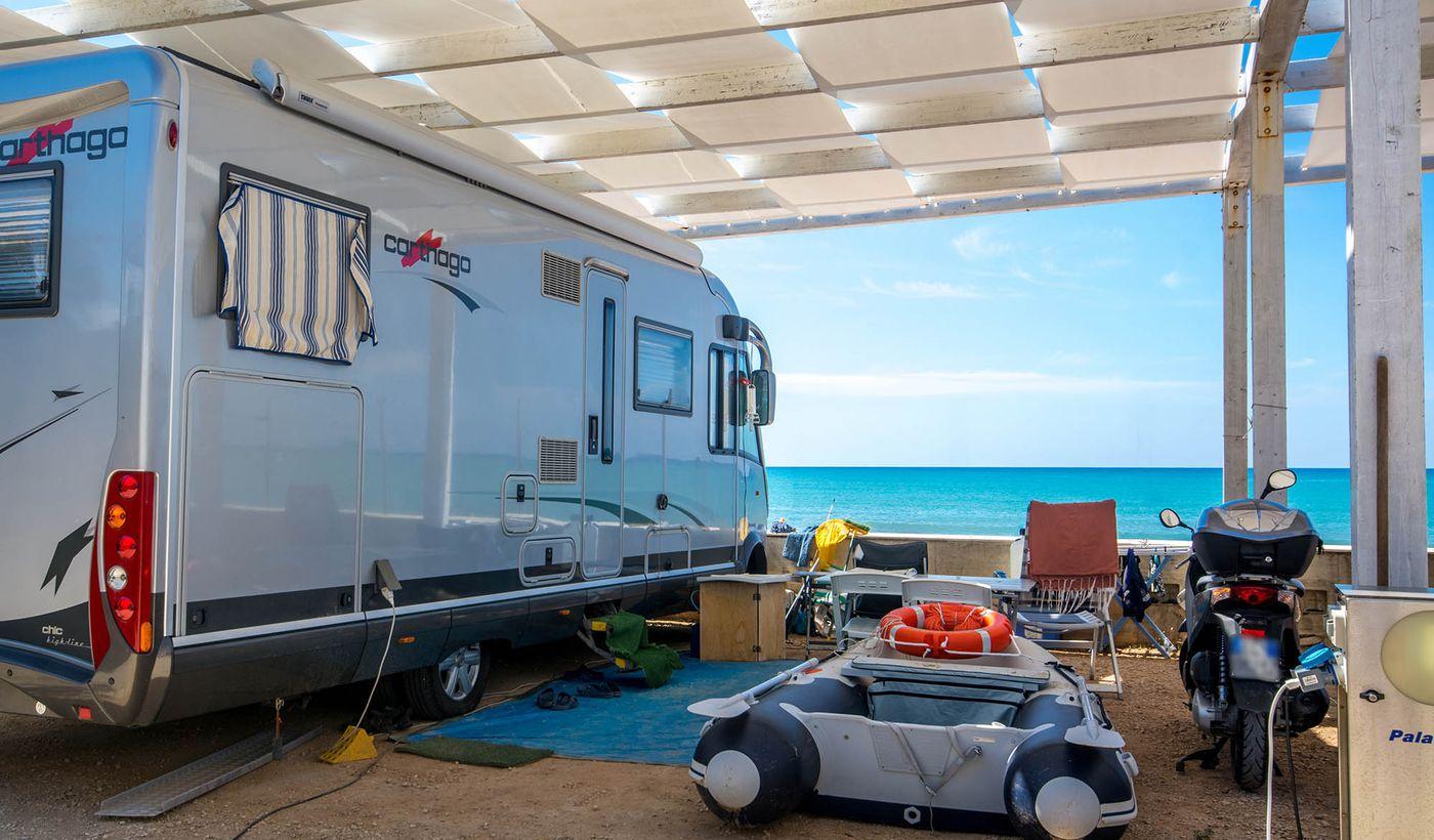 Camping Luminoso