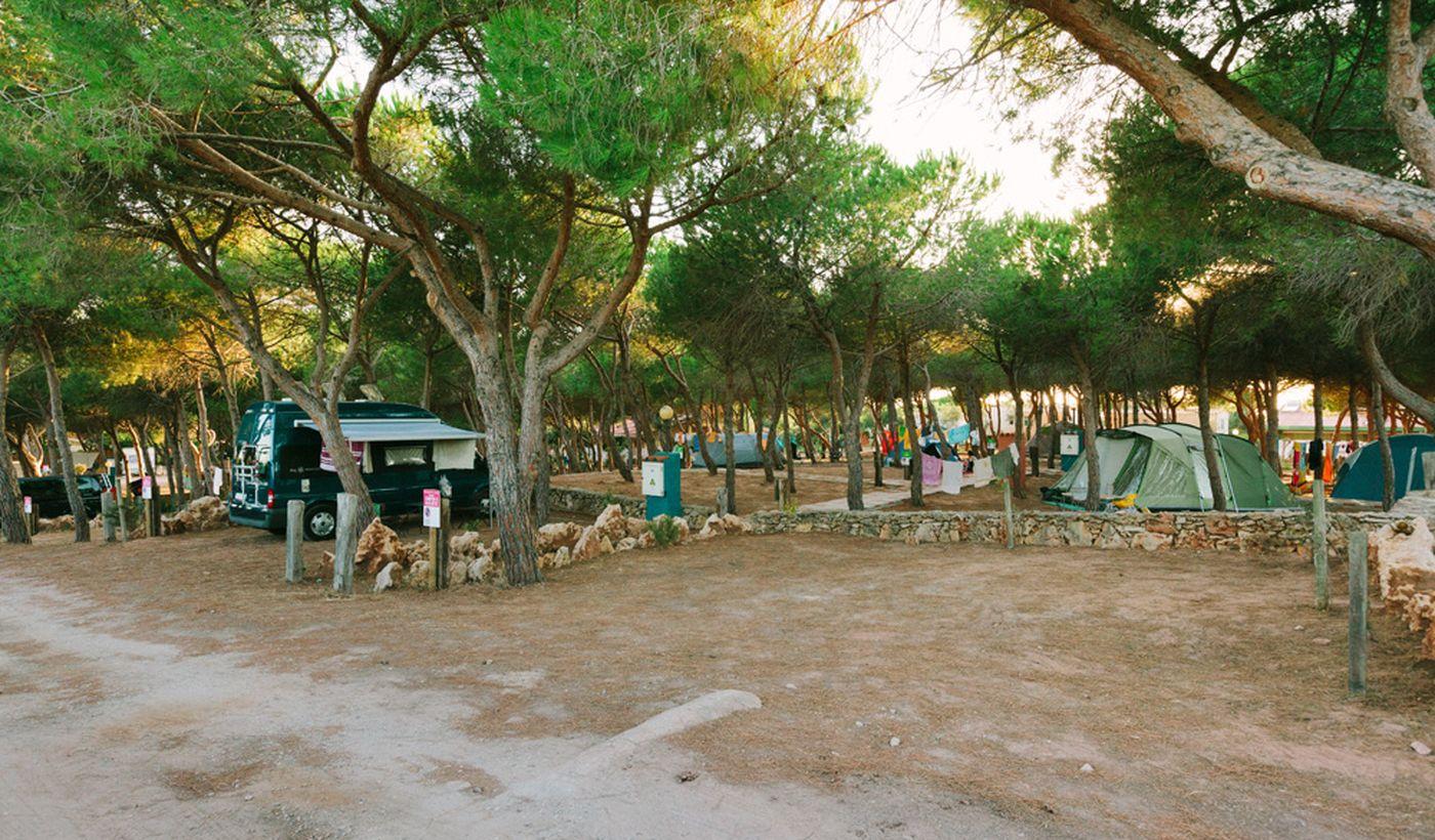 Camping Village en Cerdeña
