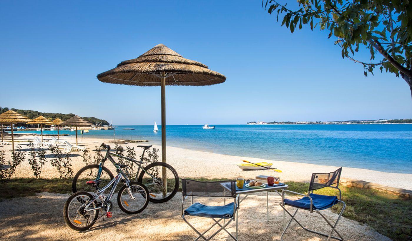 Camping sul mare in Croazia