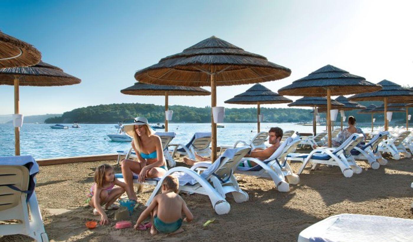 Spiaggia in Croazia