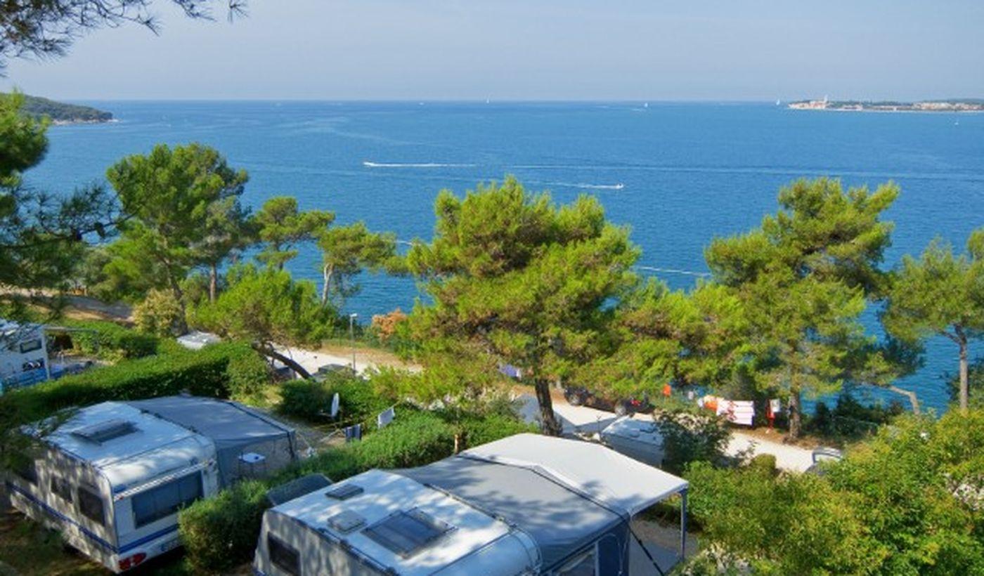 Piazzole direttamente sul mare in Croazia