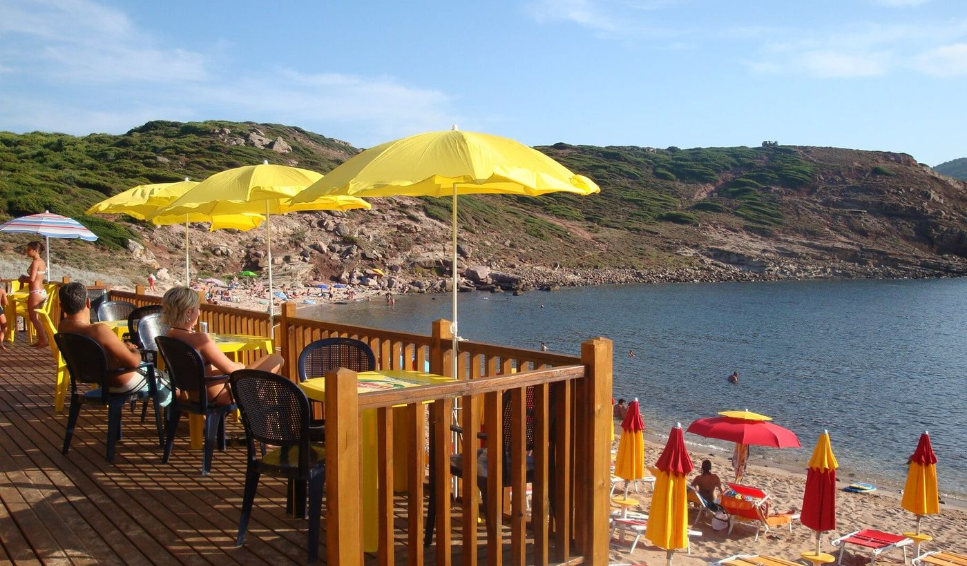 Playa privada Torre del Porticciolo