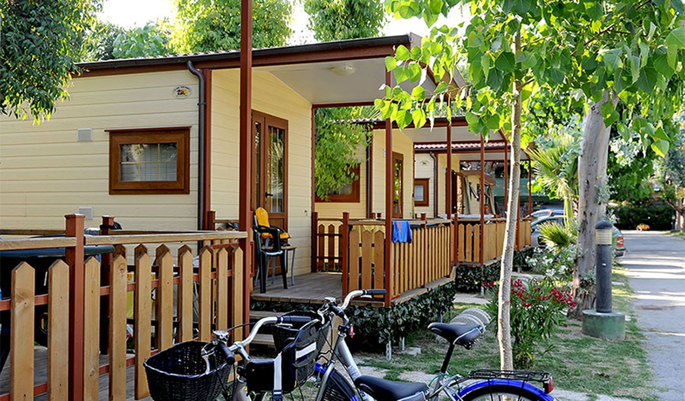 Villaggio con case mobili