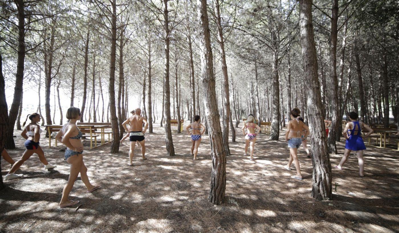 Attività nel campeggio