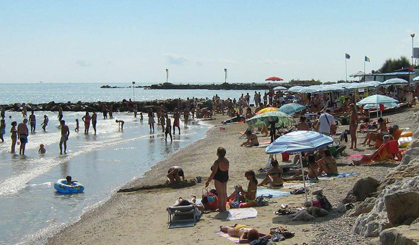 Strand in Roseto degli Abruzzi