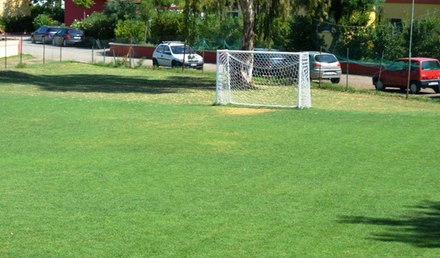 Il Campo da calcio del villaggio