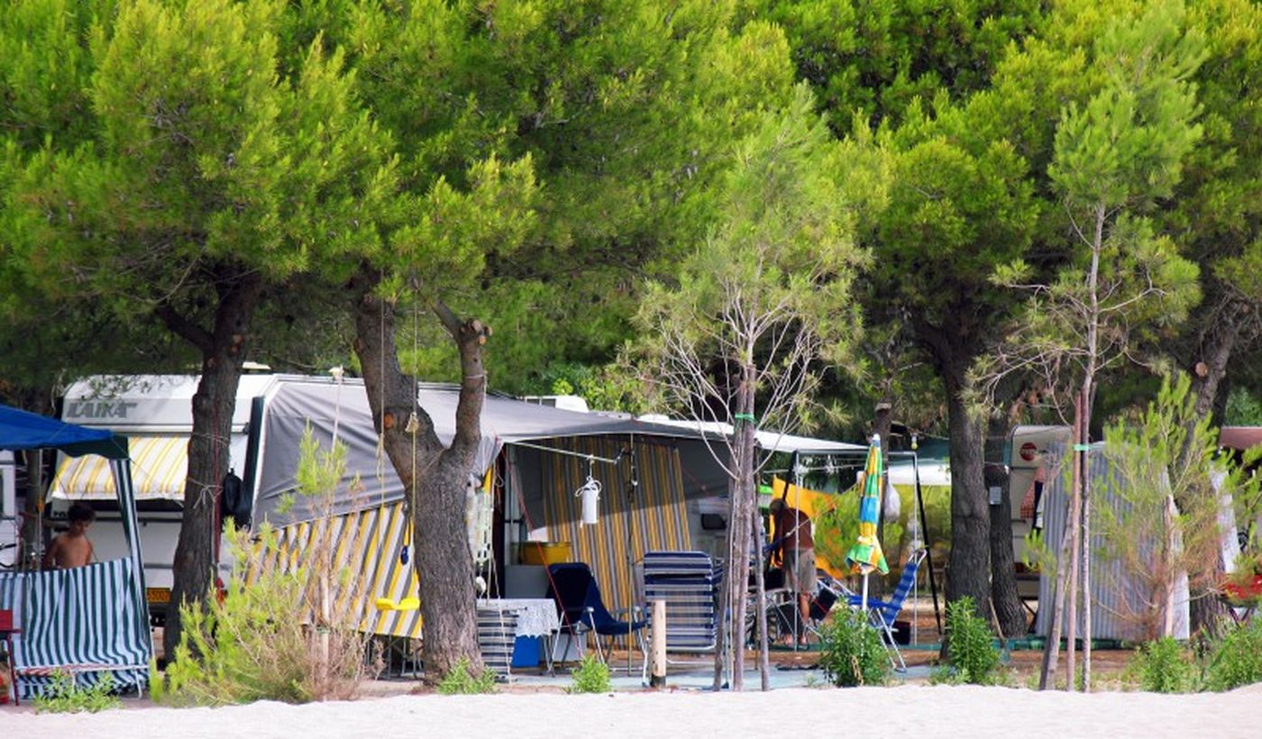 Campingplatz in Kalabrien