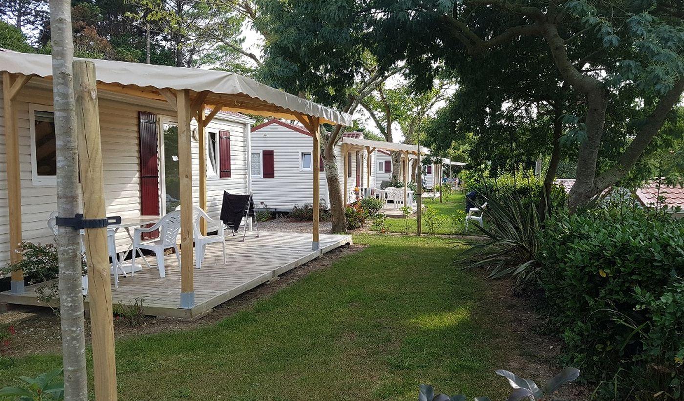 La Mobil-Home du Camping Ur Onea